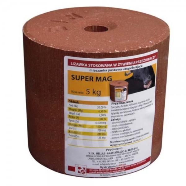 Produse, Instrumentar & Aparatura Veterinara | Gard Electric | Crotalii Animale -Sare de lins pentru animale Super Mag 5k...