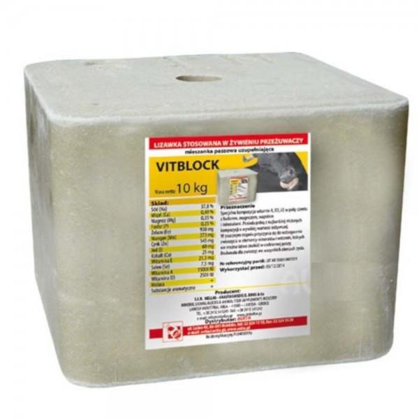 Produse, Instrumentar & Aparatura Veterinara | Gard Electric | Crotalii Animale -Sare de lins pentru animale VitBlock 10k...