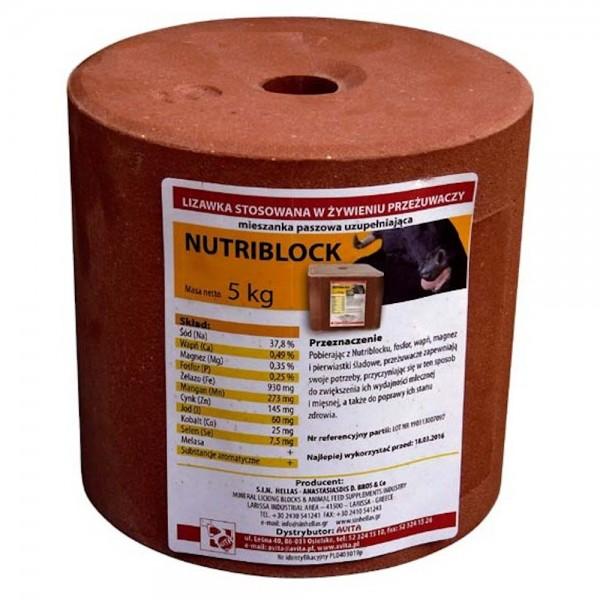 Produse, Instrumentar & Aparatura Veterinara | Gard Electric | Crotalii Animale -Sare de lins pentru animale NUTRIBlock 5...