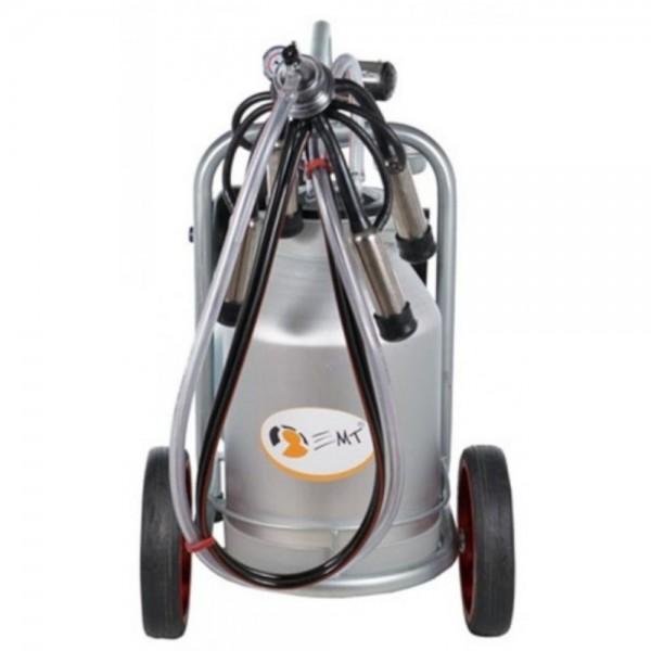Produse, Instrumentar & Aparatura Veterinara | Gard Electric | Crotalii Animale - Aparat de muls vaci 30L bidon aluminiu cu un post EMT1+1A30
