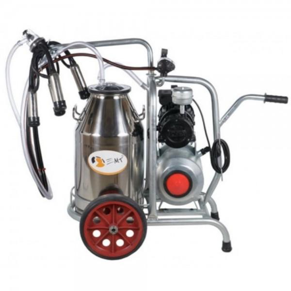 Produse, Instrumentar & Aparatura Veterinara | Gard Electric | Crotalii Animale -Aparat de muls vaci 30L bidon inox cu un...