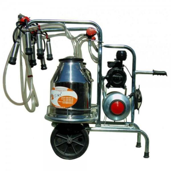 Produse, Instrumentar & Aparatura Veterinara | Gard Electric | Crotalii Animale -Aparat de muls vaci 30L 2 bidoane inox c...