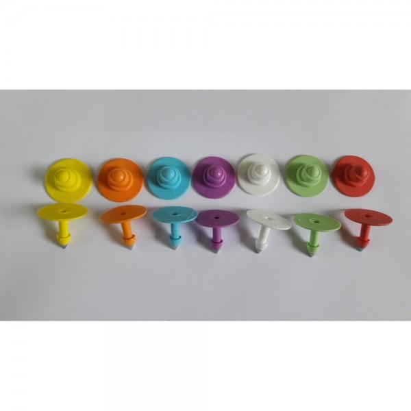 Produse, Instrumentar & Aparatura Veterinara | Gard Electric | Crotalii Animale -Crotalie vizuala Flexa Button + Button v...