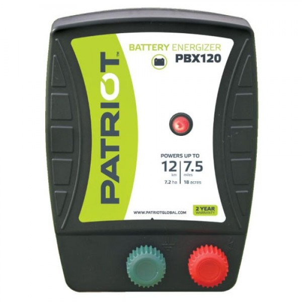 Produse, Instrumentar & Aparatura Veterinara   Gard Electric   Crotalii Animale -Generator impulsuri Patriot PBX120