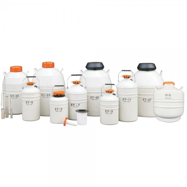 Produse, Instrumentar & Aparatura Veterinara | Gard Electric | Crotalii Animale -Container ET-11 transport material semin...
