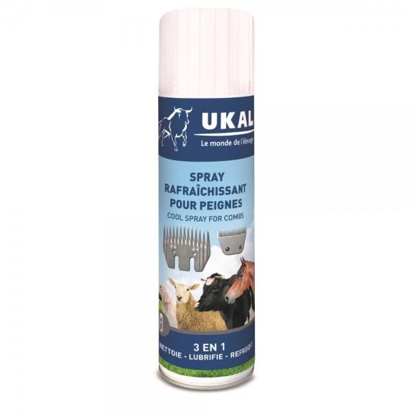 Produse, Instrumentar & Aparatura Veterinara | Gard Electric | Crotalii Animale - Spray 3 in 1 pentru piepteni si cutite m...