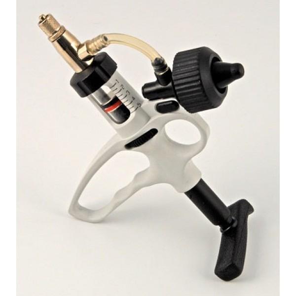 Produse, Instrumentar & Aparatura Veterinara | Gard Electric | Crotalii Animale - Seringa automata 1 ml Prima cu suport fiola