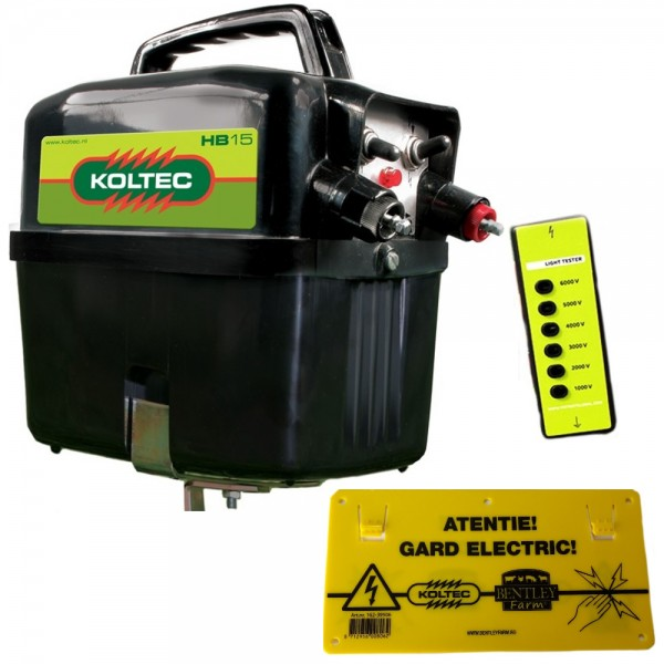 Produse, Instrumentar & Aparatura Veterinara | Gard Electric | Crotalii Animale -Generator impulsuri Koltec HB15 9-12V