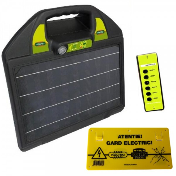 Produse, Instrumentar & Aparatura Veterinara | Gard Electric | Crotalii Animale -Generator impulsuri Koltec MS25 solar