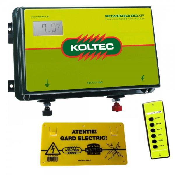 Produse, Instrumentar & Aparatura Veterinara | Gard Electric | Crotalii Animale - Generator impulsuri Koltec PowerGard XP ...