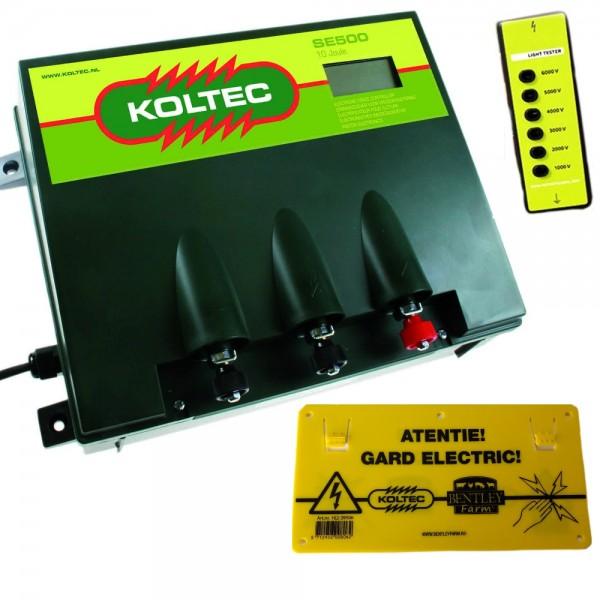 Produse, Instrumentar & Aparatura Veterinara | Gard Electric | Crotalii Animale - Generator impulsuri Koltec SE500 retea