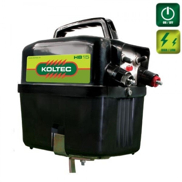 Produse, Instrumentar & Aparatura Veterinara | Gard Electric | Crotalii Animale -Generator impulsuri Koltec HB15 9-12V ga...