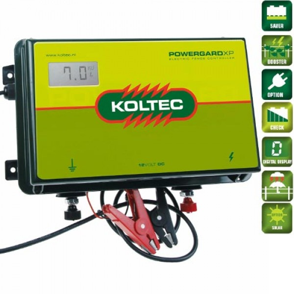Produse, Instrumentar & Aparatura Veterinara | Gard Electric | Crotalii Animale -Generator impulsuri Koltec PowerGard XP ...