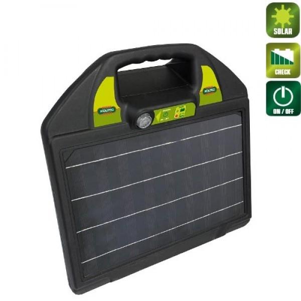 Produse, Instrumentar & Aparatura Veterinara | Gard Electric | Crotalii Animale -Generator impulsuri Koltec MS25 solar ga...