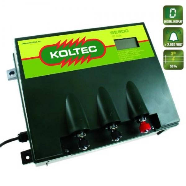 Produse, Instrumentar & Aparatura Veterinara | Gard Electric | Crotalii Animale -Generator impulsuri Koltec SE500 retea g...