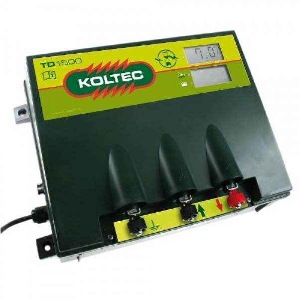 Produse, Instrumentar & Aparatura Veterinara | Gard Electric | Crotalii Animale -Generator impulsuri Koltec TD1500 gard e...