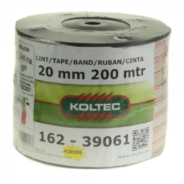 Produse, Instrumentar & Aparatura Veterinara | Gard Electric | Crotalii Animale -Conductor tip banda ranforsata Koltec 20...