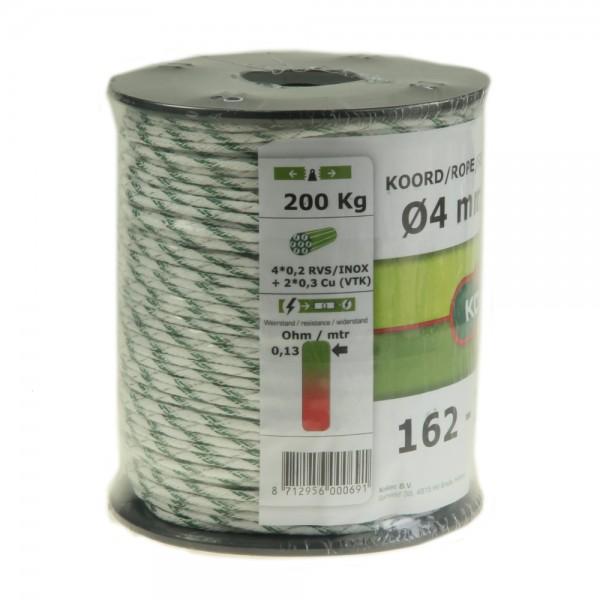 Produse, Instrumentar & Aparatura Veterinara | Gard Electric | Crotalii Animale -Conductor sfoara Koltec alb/verde 6 fire...
