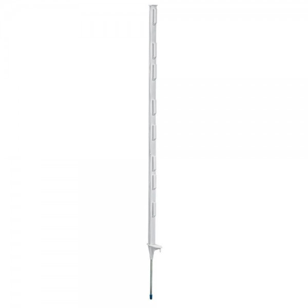 Produse, Instrumentar & Aparatura Veterinara | Gard Electric | Crotalii Animale -Stalp plastic 105 cm talpa simpla