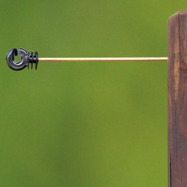 Produse, Instrumentar & Aparatura Veterinara   Gard Electric   Crotalii Animale -Izolator distantier fir 20cm (10buc)