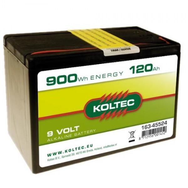 Produse, Instrumentar & Aparatura Veterinara | Gard Electric | Crotalii Animale -Baterie alkalina 9V 120Ah Koltec