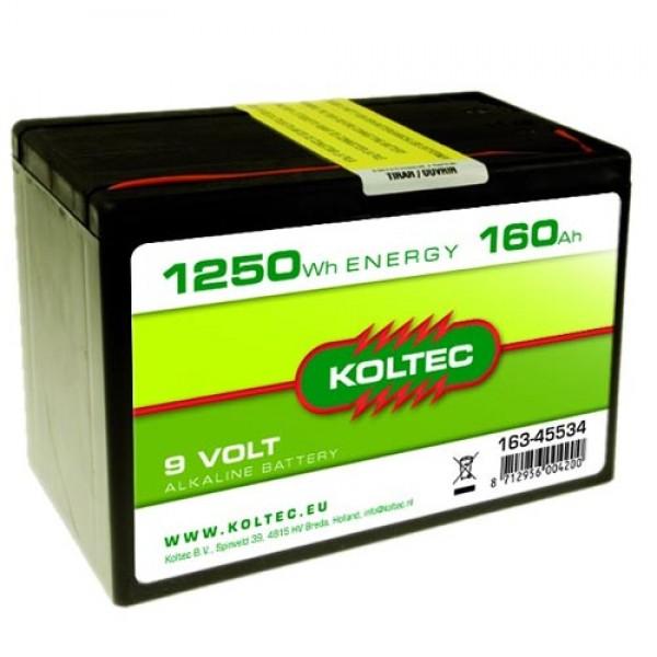Produse, Instrumentar & Aparatura Veterinara | Gard Electric | Crotalii Animale -Baterie alkalina 9v 160Ah Koltec
