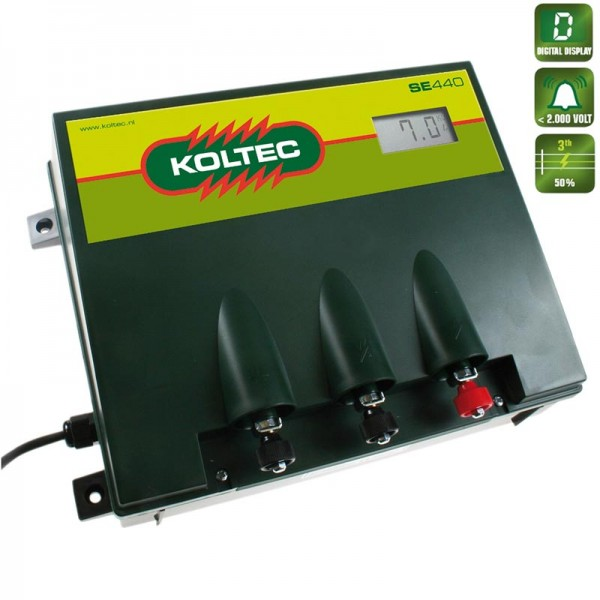 Produse, Instrumentar & Aparatura Veterinara | Gard Electric | Crotalii Animale -Generator impulsuri Koltec SE440 retea g...