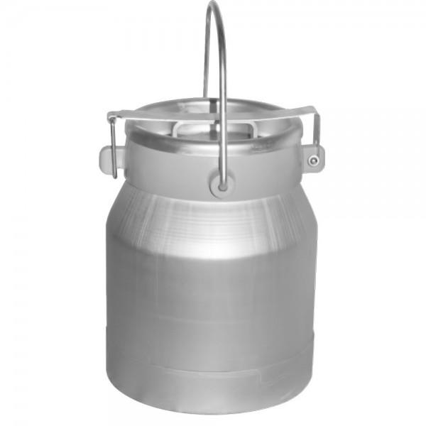 Produse, Instrumentar & Aparatura Veterinara | Gard Electric | Crotalii Animale -Bidon transport lapte 10L aluminiu cu ca...