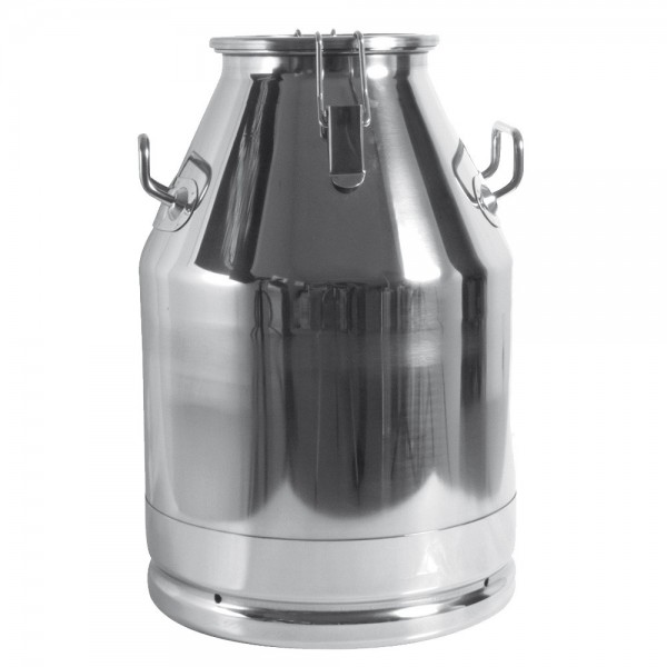 Produse, Instrumentar & Aparatura Veterinara | Gard Electric | Crotalii Animale -Bidon transport lapte 30L inox cu capac