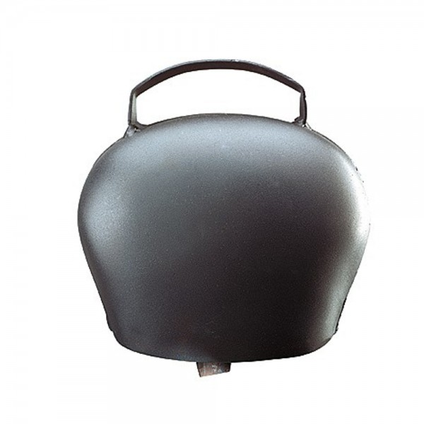 Produse, Instrumentar & Aparatura Veterinara | Gard Electric | Crotalii Animale - Clopot otel h 120 negru-albastrui