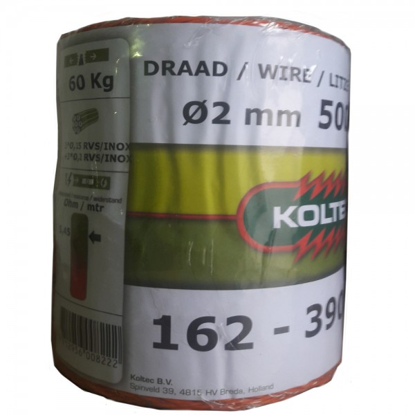 Produse, Instrumentar & Aparatura Veterinara | Gard Electric | Crotalii Animale - Conductor polifir Koltec 6 fire 500m por...