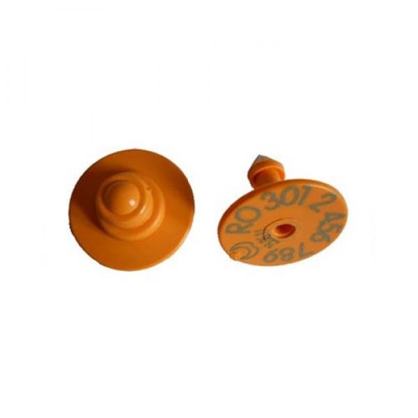 Produse, Instrumentar & Aparatura Veterinara | Gard Electric | Crotalii Animale -Crotalii vizuale Buton varf metalic pent...