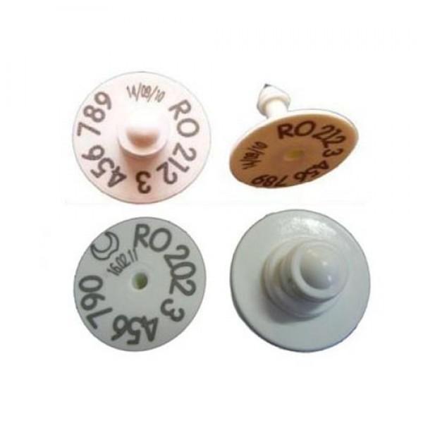 Produse, Instrumentar & Aparatura Veterinara | Gard Electric | Crotalii Animale - Kit crotalie electronica Flexa RFID Butt...