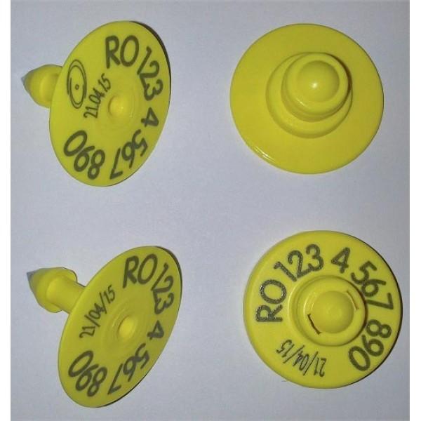 Produse, Instrumentar & Aparatura Veterinara | Gard Electric | Crotalii Animale -Kit crotalie electronica RFID + vizuala ...