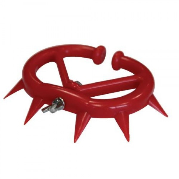 Produse, Instrumentar & Aparatura Veterinara | Gard Electric | Crotalii Animale -Dispozitiv antisupt plastic rosu S