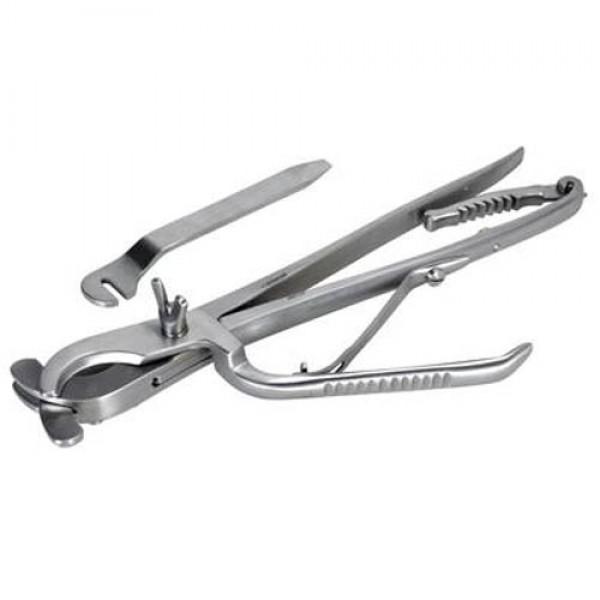 Produse, Instrumentar & Aparatura Veterinara | Gard Electric | Crotalii Animale -Cleste castrare cai Reimers 31 cm